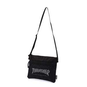 ライトオン(メンズ)(Right−on)/【thrasher】メッシュポケット付きサコッシュ メンズ