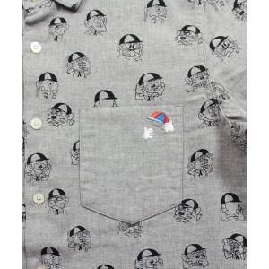 グラニフ(graniph)/【ユニセックス】藤子不二雄Aロングスリーブシャツ(変身パターン)