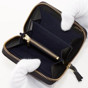 ペルケ(perche')/ミニ財布 ソフトバッファローラウンドミニ財布