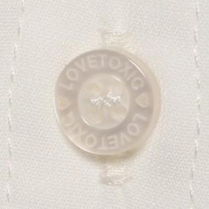 ラブトキシック(Lovetoxic)/リボンタイつきシャツ