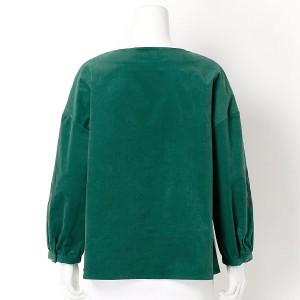 ソソ(大きいサイズ)(SOSO)/【LL〜3L・4L〜5L】袖刺繍入りタックブラウス