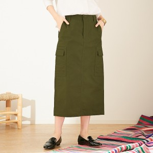 アバハウス・ドゥヴィネット(Abahouse Devinette)/アイコンミリタリースカート