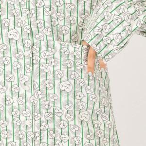 アナザーエディション(Another Edition)/ハート×ストライプ柄BIGシャツ