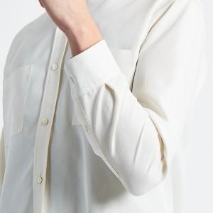 アバハウス(ABAHOUSE)/レーヨンバンドカラーシャツ