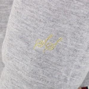 サブストリート(21号〜)(sab street)/【大きいサイズ】【21号(6L)〜】裏毛袖刺繍パーカー