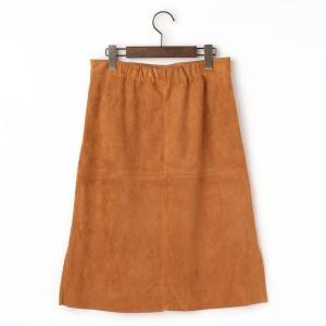 goa(goa)/エコスエード スリットタイトスカート