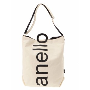 ウィゴー(レディース)(WEGO)/ウィゴー(anello ロゴ2WAYトートバッグ)
