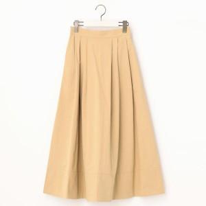 二コルホワイト(NICOLE white)/タックロングスカート