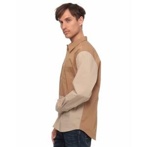 ベネトン メンズ(UNITED COLORS OF BENETTON)/バイカラーシャツ