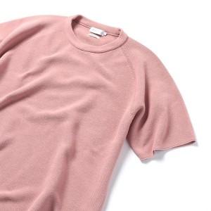 シップス ジェットブルー(SHIPS JET BLUE)/SHIPS JET BLUE: ホールガーメント ニットTシャツ