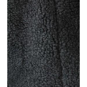 【NEW】ミッシェルクランオム(MICHEL KLEIN HOMME)/ボアテーラードジャケット