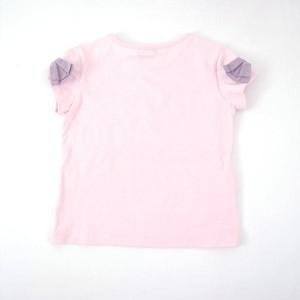 べべ(BeBe)/【カタログ掲載】バルーンプリント袖リボンTシャツ