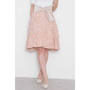 プロポーションボディドレッシング(PROPORTION BODY DRESSING)/ラッフルリーフプリントスカート