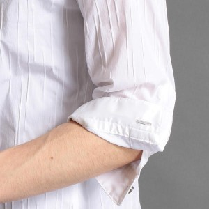 ニコルクラブフォーメン(NICOLE CLUB FOR MEN)/イタリアンカラー7分袖シャツ