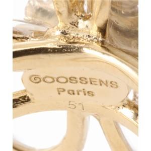 イエナ(IENA)/レディスアクセサリー(GOOSSENS PARIS ROCK CRYSTAL フラワーリング)