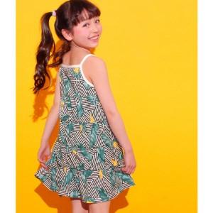 3fc10ec3264f2 アナップキッズ&ガール(ANAP KIDS GIRL) リーフ柄ワンピース