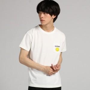 ライトオン(メンズ)(Right−on)/【Lee】【WEB限定】スマイリーポケットプリントTシャツ メンズ