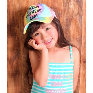 アナップキッズ&ガール(ANAP KIDS&GIRL)/タイダイデザインキャップ
