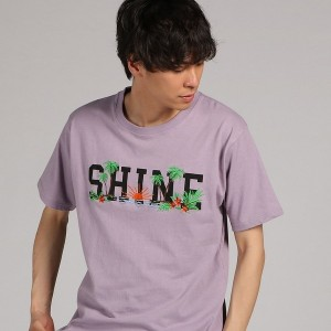 ライトオン(メンズ)(Right−on)/【ノンブランド】ギミックプリント半袖Tシャツ メンズ
