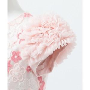 7eaf6b7f02710 組曲 キッズ(KUMIKYOKU KIDS)  TODDLER フロールダンテル ドレス. カラー(01)