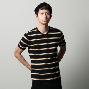 ザ ショップ ティーケー(メンズ)(THE SHOP TK Mens)/MTシャツ(◆インレイVネックプルオーバー)