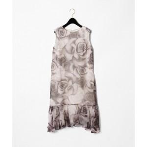 c3ffac9e3d50d グレースコンチネンタル(GRACE CONTINENTAL) ローズプリントドレス