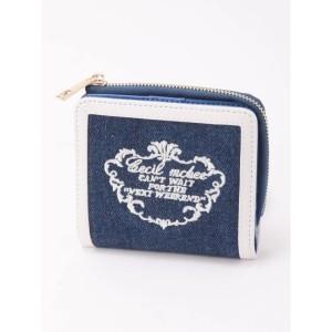a7b0d1089087 セシルマクビー(CECIL McBEE)/刺繍ラウンド小財布