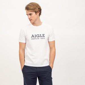 """""""エーグル(AIGLE)/DFT AIGLEロゴT半袖"""""""