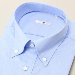 91b85f2b6cb881 スーツセレクト(メンズ)(SUIT SELECT)/ボタンダウンドレスシャツ/ブルー