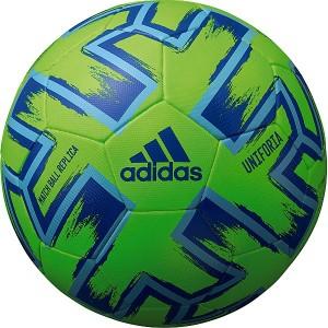 アディダス(スポーツオーソリティ)(adidas)/サッカー ユニフォリア ハイブリッド 緑色 4号球