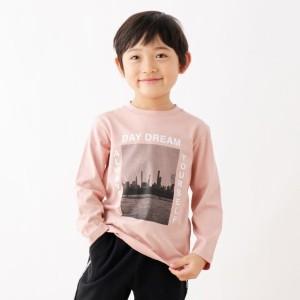 ザ ショップ ティーケー(キッズ)(THE SHOP TK Kids)/【100150cm】フォト風プリントロングTシャツ