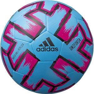 アディダス(スポーツオーソリティ)(adidas)/サッカー ユニフォリア ハイブリッド 水色 4号球