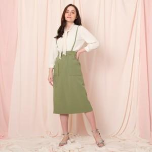 クチュールブローチ(Couture Brooch)/サスペンダータイトスカート