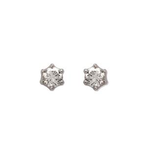エステール(ESTELLE)/プラチナ ダイヤモンド ピアス