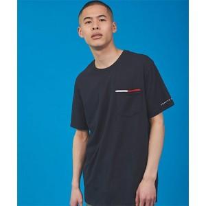 トミーヒルフィガー(メンズ)(TOMMY)/コットン ポケット Tシャツ