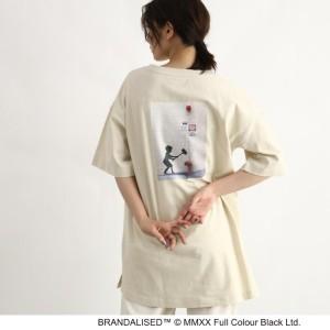 """""""オゾック(OZOC)/【BRANDALISED×OZOC】グラフィックBIGTシャツ"""""""