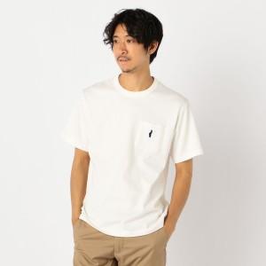 ノーリーズ メンズ(NOLLEY'S)/ベア刺しゅう ポケット付Tシャツ [NOLLEY'S light]