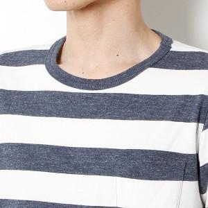 エドウィン(メンズ)(EDWIN)/HEATHER*HEATHER ボーダーTシャツ