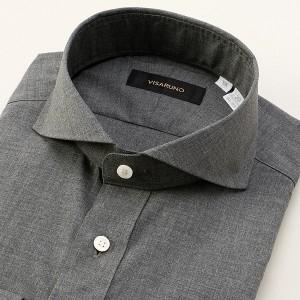ビサルノ(VISARUNO)/[首35〜50cm]ラクチンすっきりYシャツ(WEB限定商品)