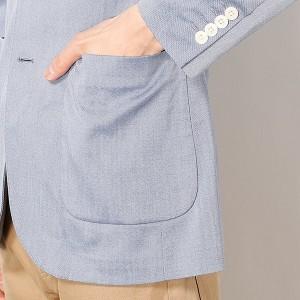 ビサルノ(VISARUNO)/ラクチンすっきりジャケット(吸水速乾・ストレッチ素材)