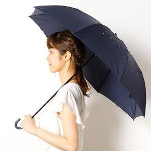 ビーサニー(BE SUNNY)/【雨晴兼用傘】シャイニースター(2段折りたたみ/レディース)