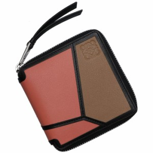 96b60a4a9800 ロエベ LOEWE 2019年春夏新作 パズル コンパクト財布 レディース PUZZLE SQUARE ZIP WALLET ピンク