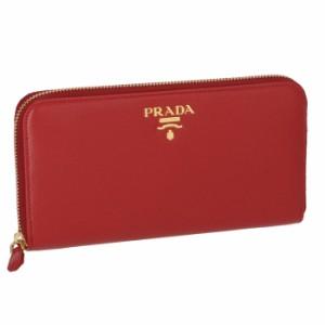 f713f07de6a5 プラダ PRADA 財布 型押しカーフスキン ラウンドファスナー長財布 1ML506 QWA 68Z