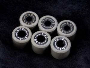 デイトナ 汎用 プーリー関連パーツ DWRウエイトローラー(3個セット) 外径φ18×幅14mm 14.0G