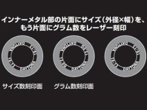 デイトナ 汎用 プーリー関連パーツ DWRウエイトローラー(3個セット) 外径φ15×幅12mm 7.0G