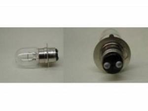 KN企画 汎用 ヘッドライト・バルブ ダブル球 12V 25/25 W 一本角タイプ 10個