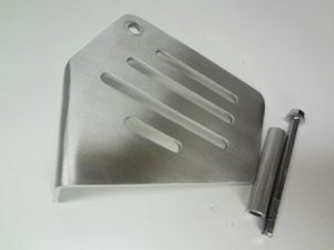 ケイオーパーツ ズーマー タンク関連パーツ ZOOMER用アルミリザーブタンクカバー