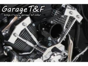 ガレージT&F ファンネルエアクリーナーキット カラー:ブラック