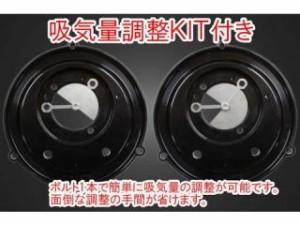 ガレージT&F ラグジュアリーエアクリーナーキット タイフーン カラー:コントラスト