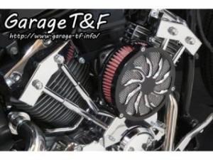 ガレージT&F ラグジュアリータイフーン&プッシュロッドカバーセット カラー:コントラスト